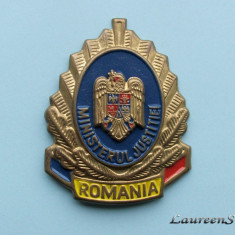 SEMN CASCHETA  - MINISTERUL JUSTITIEI  ROMANIA