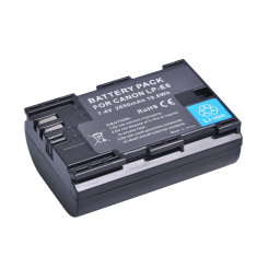 Acumulator tip Canon LP-E6 2650mAh (EOS 5D Mark II, III, EOS 6D, 7D, 60D, 70D) - Baterie Aparat foto
