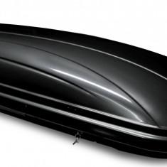 Cutie portbagaj Menabo Mania 580 ABS Black, 225x89x37cm