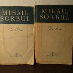 TEATRU -MIHAIL SORBUL.2 VOLUME - Carte Teatru