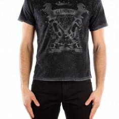 Tricou Gucci - Tricou barbati, Marime: XS, Culoare: Negru, XS, Negru