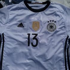 Tricou Germania - Marimi : XXL, XL/XXL, Maneca scurta, Alb, Adidas