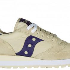 Sneakers Saucony - Adidasi dama Saucony, Culoare: Bej, Marime: 36, Bej
