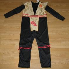 Costum carnaval serbare ninja pentru copii de 7-8 ani - Costum Halloween, Marime: Masura unica, Culoare: Din imagine