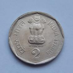 2 RUPII INDIA 1990, Europa
