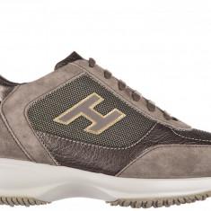 Sneakers Hogan - Adidasi dama Hogan, Culoare: Maro, Marime: 38, 39