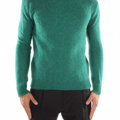 Pulover MSGM - Pulover barbati, Marime: M, Culoare: Verde, M, La baza gatului, Lana