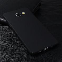 Husa Metallic Matte Samsung Galaxy S7 Edge BLACK, Gel TPU