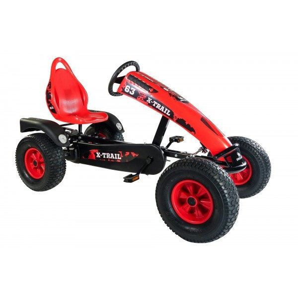 27b47b42ec8eec Kart cu pedale Dino Cars X-TRAIL BF1 Fabricat in Germania