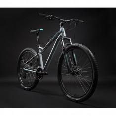 """Bicicleta MTB Hardtail Pentru Dama 27.5"""" Silverback Splash 2 - Mountain Bike, 17 inch, Numar viteze: 24, Aluminiu"""