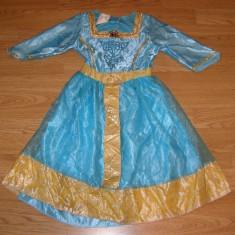 Costum carnaval serbare printesa merida pentru copii de 4-5-6 ani - Costum Halloween, Marime: Masura unica, Culoare: Din imagine