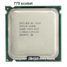 CPU Procesor PC Intel Xeon Quad L5420 2, 5ghz/1333/12MB/50W/adaptat LGA 775 Q9300, Intel Quad, Numar nuclee: 4, 2.5-3.0 GHz, LGA 771/ J
