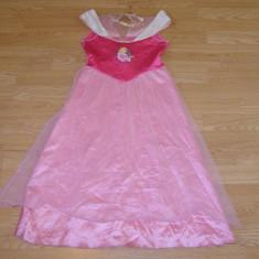 Costum carnaval serbare aurora pentru copii de 7-8-9-10 ani - Costum Halloween, Marime: Masura unica, Culoare: Din imagine