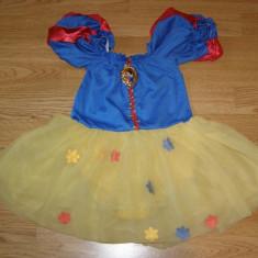 Costum carnaval serbare alba ca zapada pentru copii de 3-4 ani - Costum Halloween, Marime: Masura unica, Culoare: Din imagine