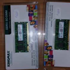 Kingmax Memorie RAM Laptop, DDR2, 1GB, 667 Mhz, 2Buc