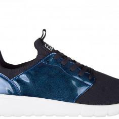 Sneakers Armani Emporio - Adidasi barbati Emporio Armani, Marime: 42, Culoare: Albastru, Albastru
