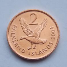 2 PENCE 2004 FALKLAND-UNC, Australia si Oceania