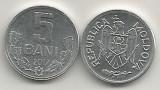 MOLDOVA  5  BANI  2017  [1]   UNC  ,  livrare in cartonas, Europa, Aluminiu