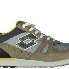Sneakers Lotto Leggenda - Adidasi barbati Lotto, Marime: 41, 42, Culoare: Gri