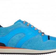 Sneakers Dior - Adidasi barbati Dior, Marime: 41, 42, Culoare: Albastru, Marime: 41, Albastru