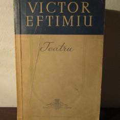 TEATRU -VICTOR EFTIMIU - Carte Teatru