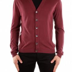 Cardigan Gucci - Pulover barbati, Marime: L, Culoare: Rosu, L, Rosu