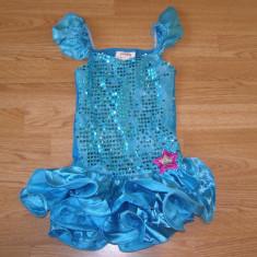 Costum carnaval serbare rochie dans pentru copii de 5-6 ani - Costum dans, Marime: Masura unica, Culoare: Din imagine