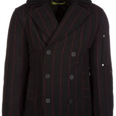 Palton Versace Jeans - Palton barbati, Marime: 48, Culoare: Negru, Negru