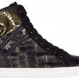 Sneakers Hogan - Gheata dama Hogan, Culoare: Negru, Marime: 36.5, 38, 38.5, 40