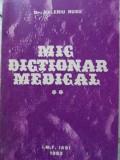 Mic Dictionar Medical Vol.2 O-z - Valeriu Rusu ,403008