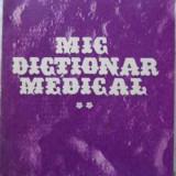 Mic Dictionar Medical Vol.2 O-z - Valeriu Rusu, 403008