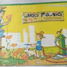 REVISTA ARICI POGONICI NR. 5/1975 (CU DEFECTELE MENTIONATE IN DESCRIERE) - Revista scolara