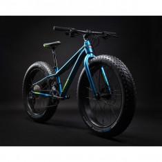 """Bicicleta MTB Fatbike 24"""" Silverback Scoop Half - Mountain Bike, Numar viteze: 20, Aluminiu"""