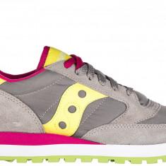 Sneakers Saucony - Adidasi dama Saucony, Culoare: Gri, Marime: 36, 37