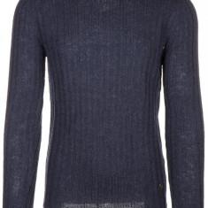 Pulover Gucci - Pulover barbati, Marime: L, XL, Culoare: Albastru, La baza gatului, Lana