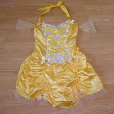 Costum carnaval serbare printesa belle pentru adulti marime S - Costum Halloween, Marime: Masura unica, Culoare: Din imagine