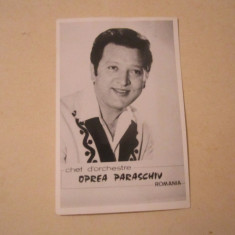 Autograf paraschiv oprea dirijor anul 1984 c16