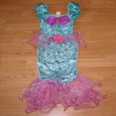 Costum carnaval serbare ariel pentru copii de 4-5-6 ani - Costum Halloween, Marime: Masura unica, Culoare: Din imagine
