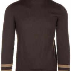 Pulover Gucci - Pulover barbati, Marime: S, Culoare: Maro, S, Helanca, Lana