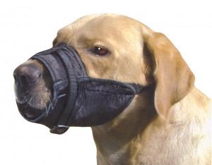 Botnita textila caine ajustabila L - catel Rottweiler, canne corso
