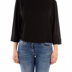 Bluza Elisabetta Franchi - Bluza dama, Marime: 42, Culoare: Negru, Negru