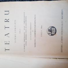 I. L Caragiale-Teatru( edite veche, interbelica) - Carte veche