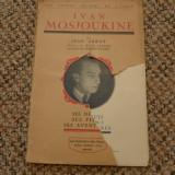 Ivan Mosjoukine par Jean Arroy Ed. Les Publications Jean-Pascal 1927 Paris - Carte de colectie