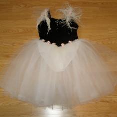 Costum carnaval serbare rochie dans balet pentru copii de 5-6 ani - Costum dans, Marime: Masura unica, Culoare: Din imagine