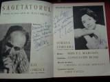 Ion Omescu, Sagetatorul, cu autograf si dedicatie Ion Omescu si Sorana Coroama