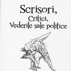 Scrisori, critici, vederile sale politice - Mihai Eminescu