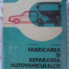 Fabricarea Si Repararea Autovehiculelor Rutiere - D. Maricnas, D. Abaitancei, 403392