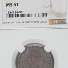 NGC 1 leu 1881 MS 62 - Moneda Romania