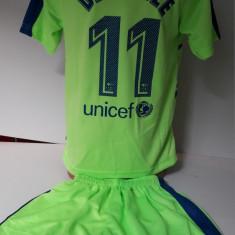 Echipament sportiv fotbal copii FC.Barcelona Dembele model nou - Echipament fotbal, Marime: Alta