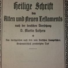 MARTIN LUTHERS - DIE BIBEL ODER DIE GANZE HEILIGE SCHRIFT - DAS NEUE TESTAMENT